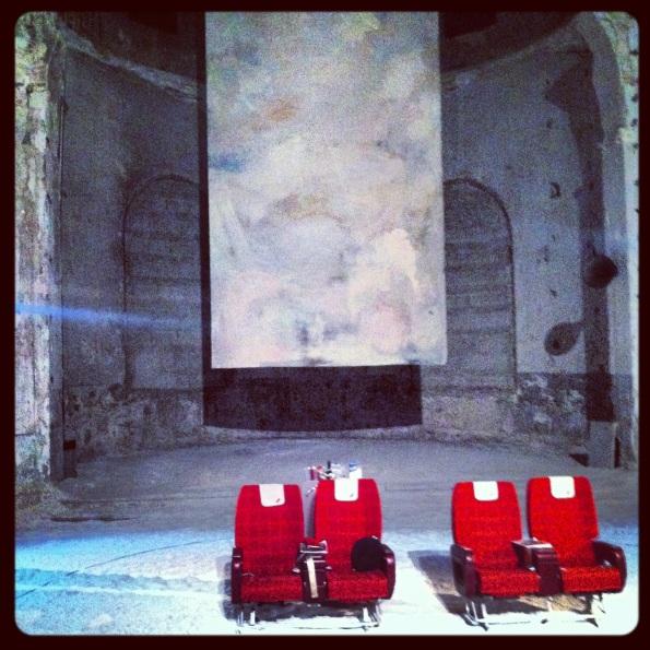 Chiesa di San Simone, qualche secondo prima dell'inizio dello spettacolo di Irina Brook