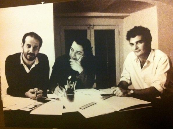 Toni Servillo, Antonio Neiwiller e Mario Martone