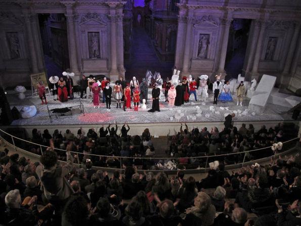 Hamlice al Teatro Olimpico di Vicenza (ottobre 2011)